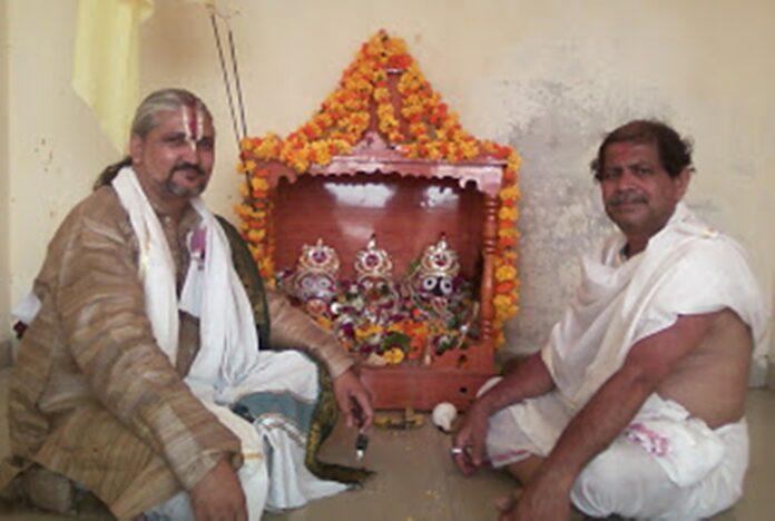 Bhagwan Jagannath Ke Hath Pair