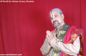 Bhagwat Pravakta Swami Dhananjay Maharaj