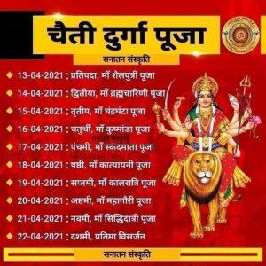 Navratri 2021 Ghatasthapana